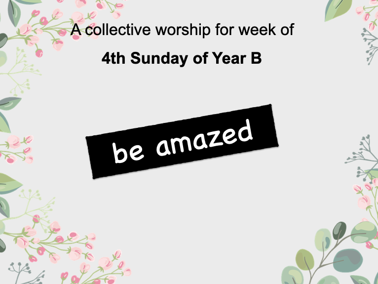 collective worship Catholic Spring Term 2021