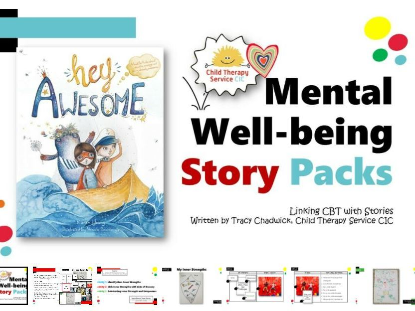 Mental Well-being Story Pack: Hey Awesome! (5 - 11yrs)