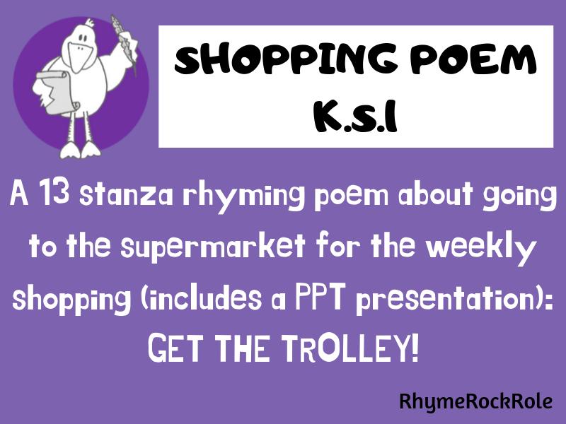 SHOPPING Poem - K.S.1/E.Y.F.S