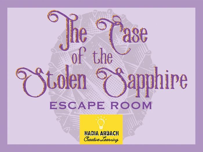 The Case of the Stolen Sapphire - Escape Room Activity
