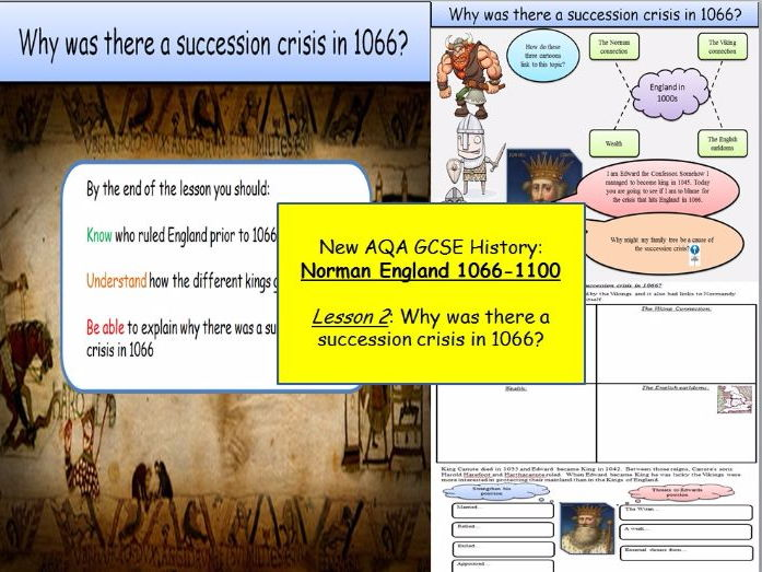 Norman England 1066-1100: Lesson 2 - Why was there a succession crisis in 1066?