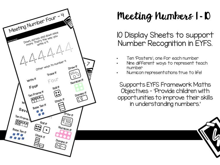 Meeting Numbers 1-10