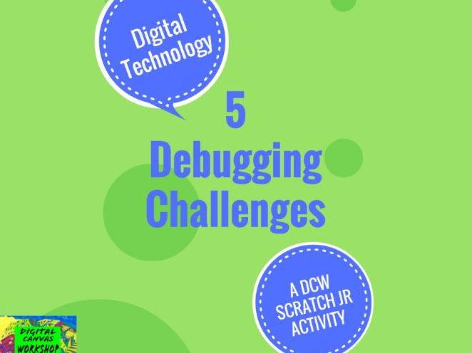 5 Scratch Jr Debugging Challenges
