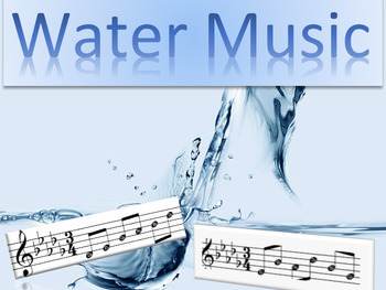 Water Music - Composition Activity Resources
