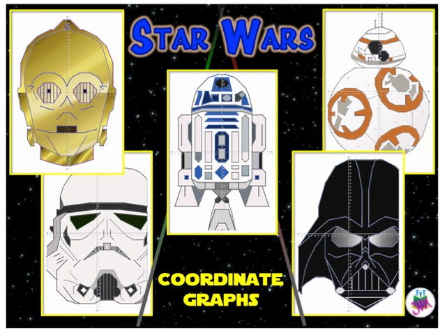 Star Wars Coordinate Graphs