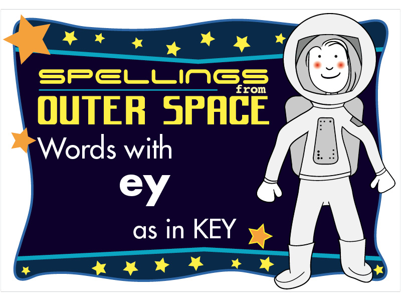 Year 2 Spellings Words with EY as in KEY
