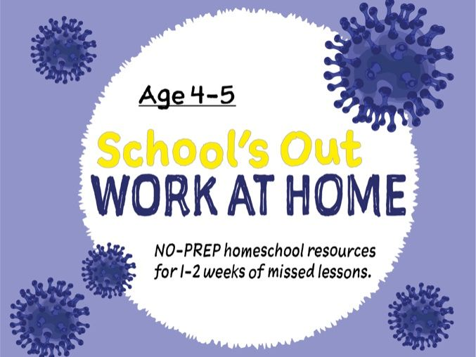 Prepare For Home Learning (4-5 years) Reception