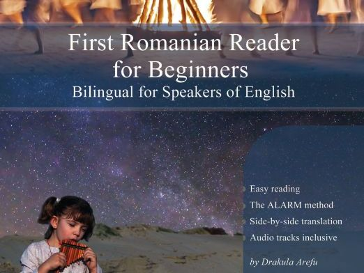 First Romanian Reader for Beginners Bilingual for Speakers of English (Print Replica)