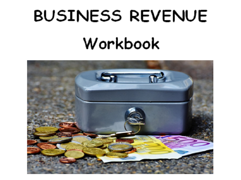 Revenue Workbook - BTEC First level 1/2 Unit 2 - Finance for Business