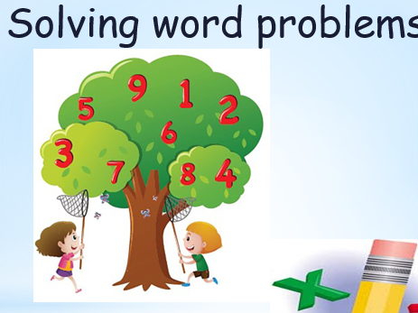 Word problems Year 1 (RUCSAC)