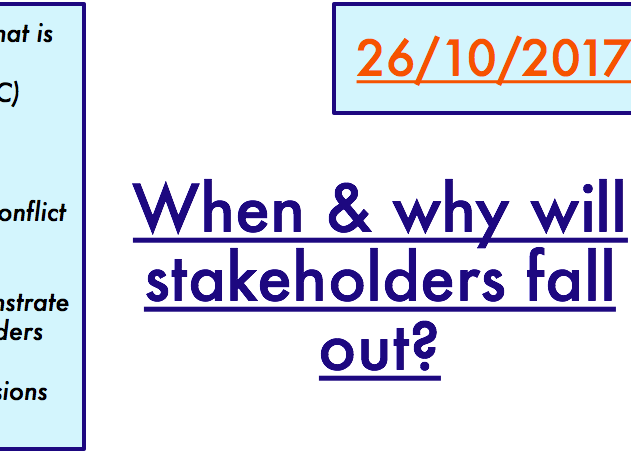 Why Grow / Methods of Expansion / Stakeholder Conflict (3 LESSONS)