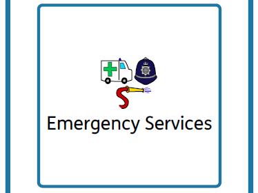 Colourful semantics / Narrative ASD/SEN - Emergency Services