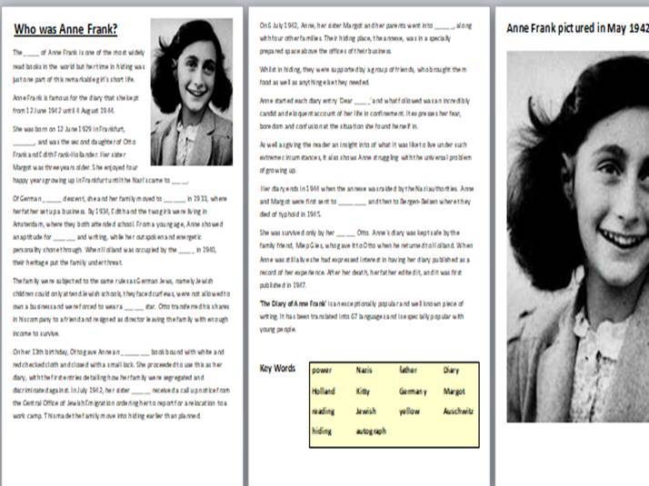Anne Frank Bundle