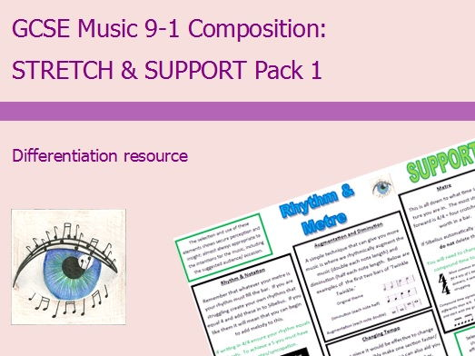 GCSE Music 9-1 Composition: Differentiation Pack 1