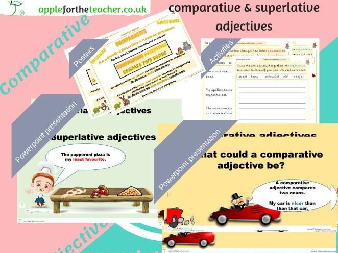 Comparative & Superlative Adjectives KS2