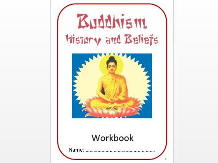 Buddhism: History and Beliefs Workbook: High Ability