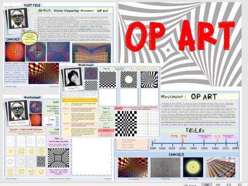 Op Art Movement / NCFE ART and DESIGN