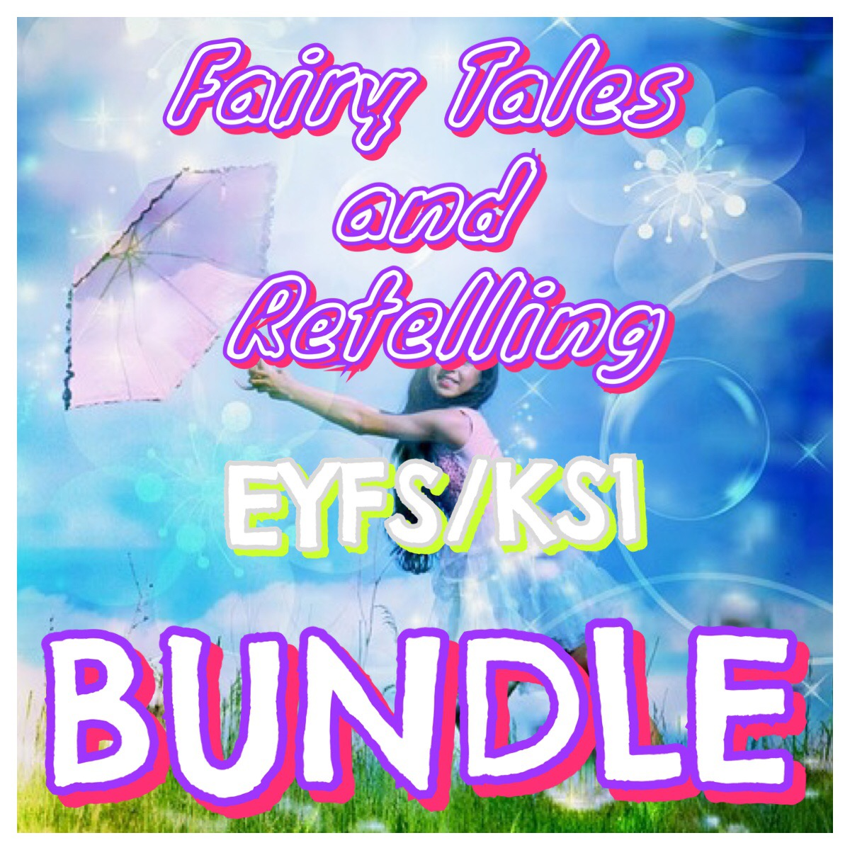 Fairy Tales and Retelling Bundle for KS1