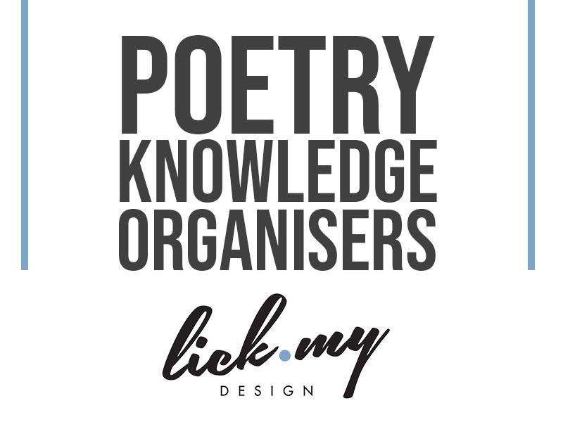 Poetry - Poppies Knowledge Organiser