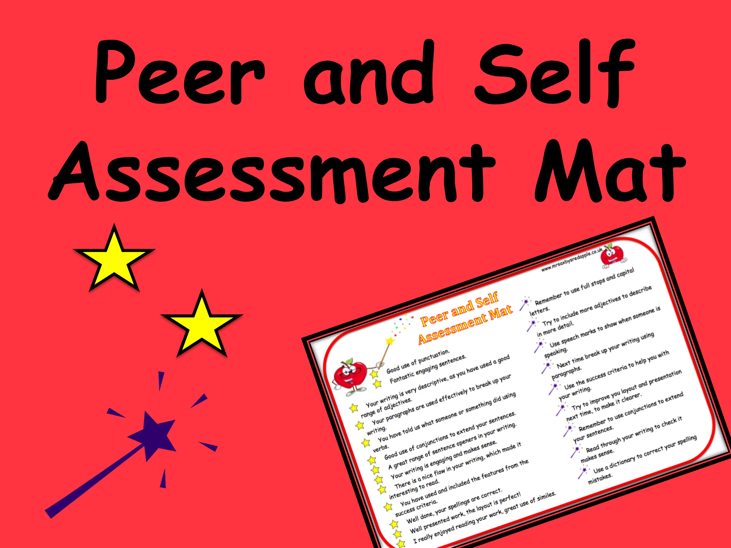 peer and self assessment Free resources and tips to help educators and administrators use exemplars' assessments and lesson plans in the classroom effectively.