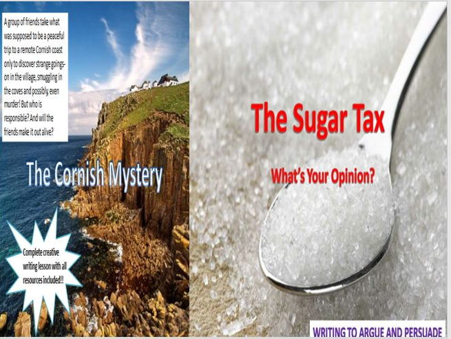 The Cornish Mystery + The Sugar Tax with Starters