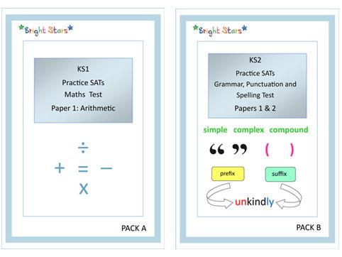 KS1 Practice SATs Paper Pack A
