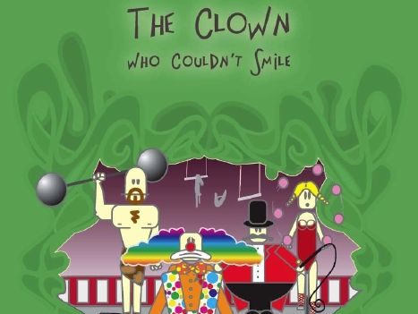 Sample pages for the play The Clown Who Couldn't Smile
