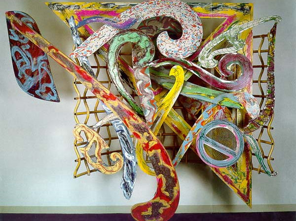 Frank Stella collage project