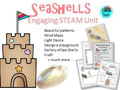 Sea Shells - STEAM, Biomimicry
