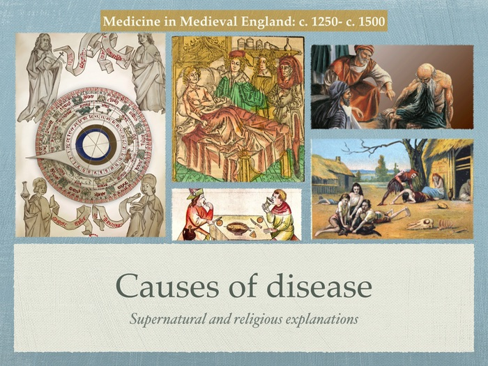 Edexcel GCSE History of Medicine. Middle Ages. Causes of diseases