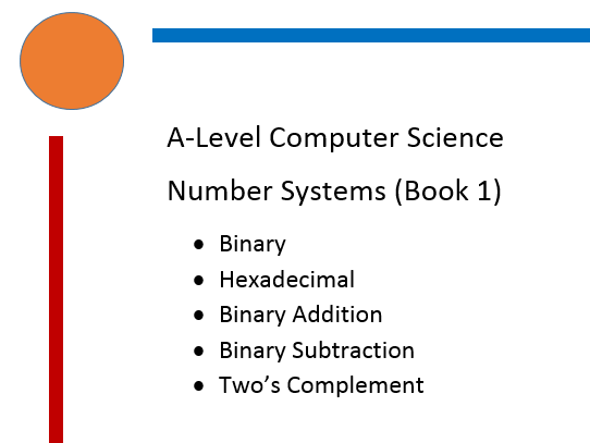 Binary, Binary Addition, Binary Subtraction, Hexadecimal, Two's Compliment workbook