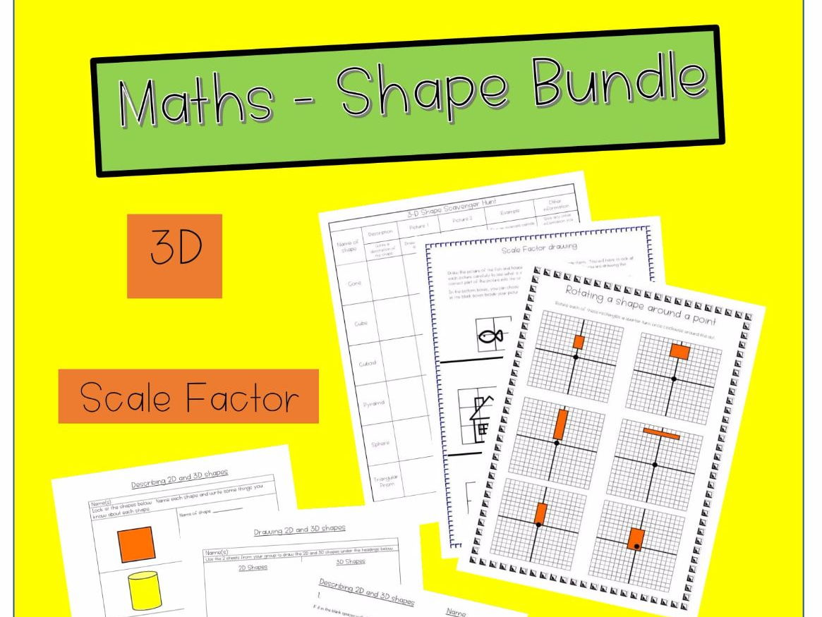 Geometry - Shape Worksheets