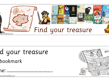 "FREE CBCA Australia 2018 Book Week ""Find Your Treasure"" Bookmarks"