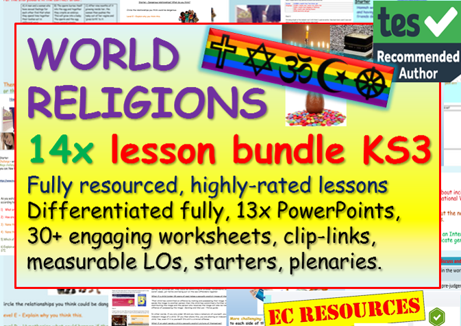 World Religions KS3 RE (16 hours)