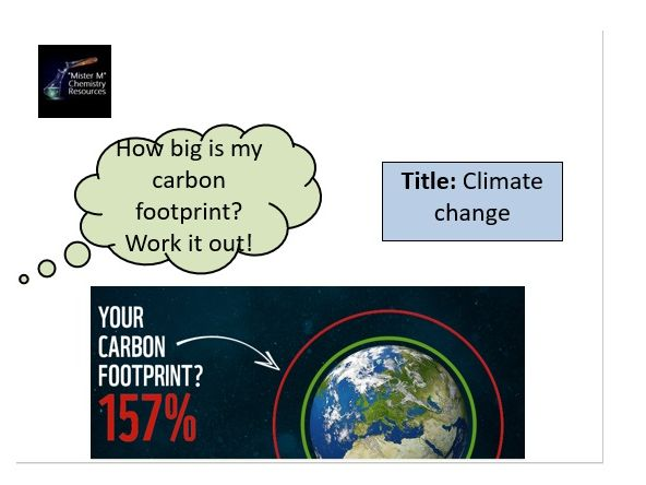 AQA GCSE Chemistry - C13 - Climate Change