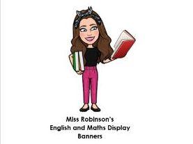 English and Maths Display Banners