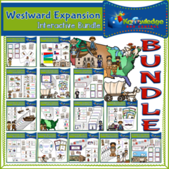 Westward Expansion Interactive Foldable Booklets BUNDLE