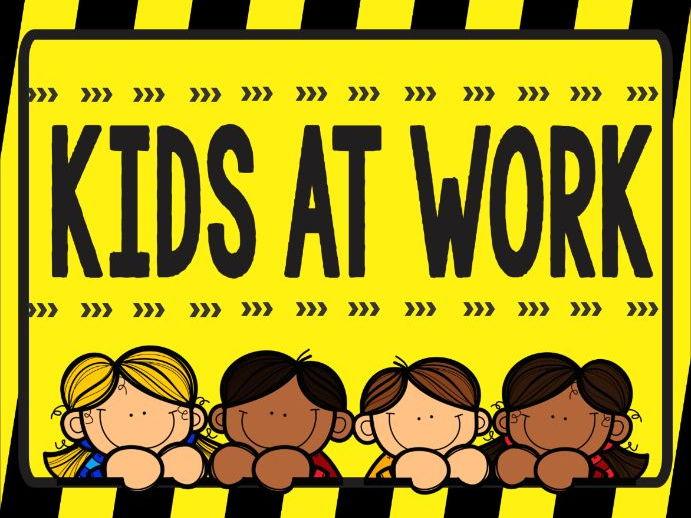Kids at Work Poster