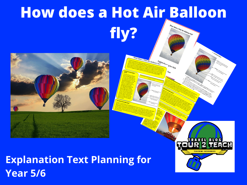 Explanation Text Planning: Year 5/6: 'How does a Hot Air Balloon fly?'