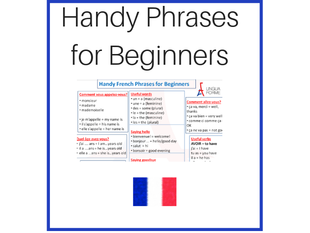 Handy French Phrases for Beginners