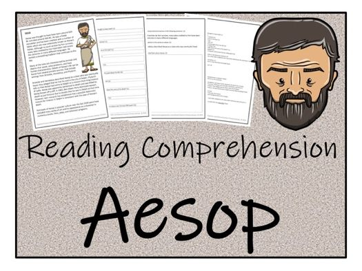 UKS2 History - Aesop Reading Comprehension Activity