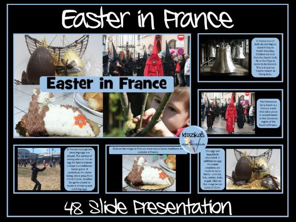 Easter in France/Pâques/Semaine Sainte