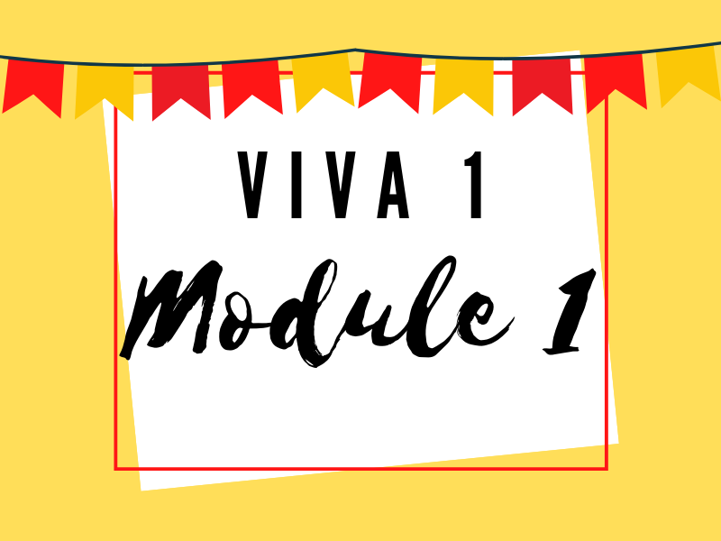 Viva 1: Module 1 Knowledge Organiser