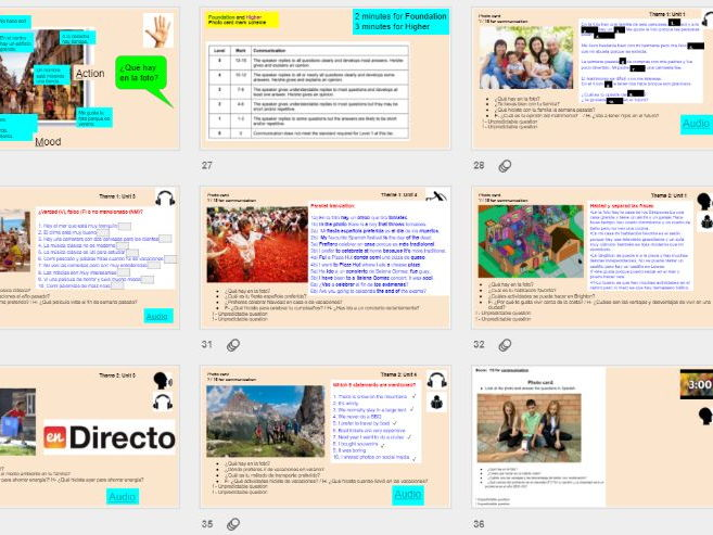 BUMPER PACK: New AQA GCSE Spanish 9-1 speaking revision lessons: role play/photo card/conversation