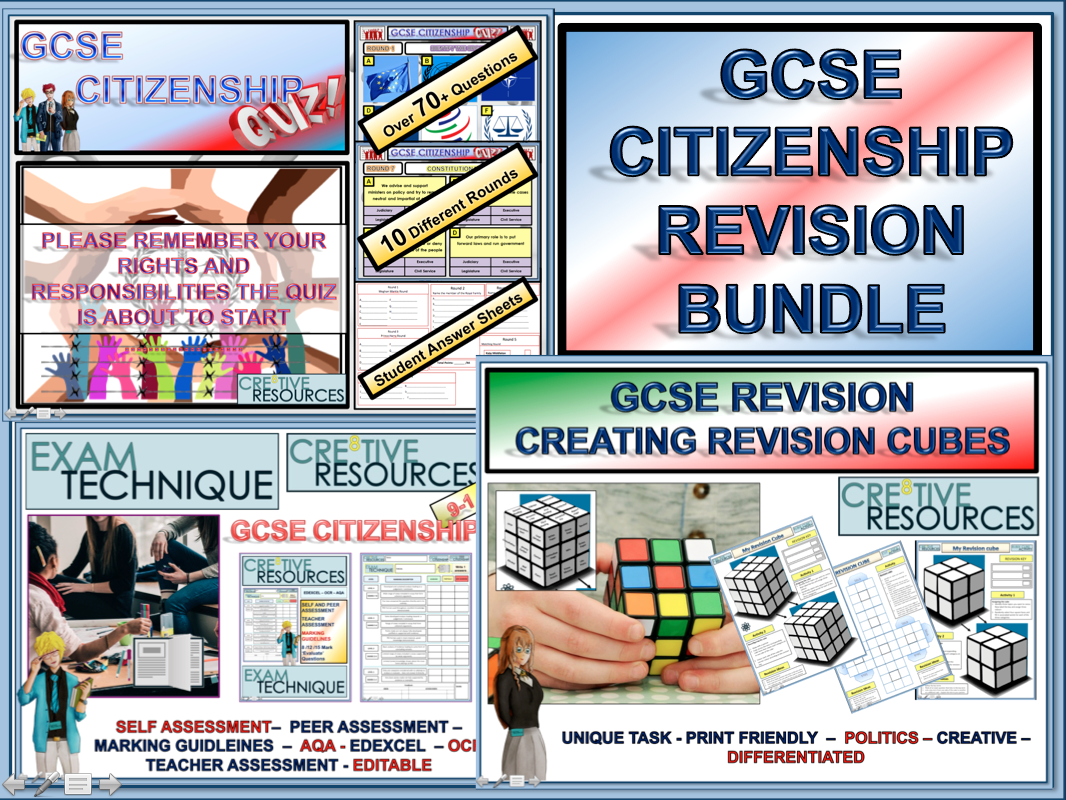 Citizenship GCSE Revision AQA EDEXCEL or OCR