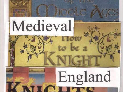 Medieval England  3 books