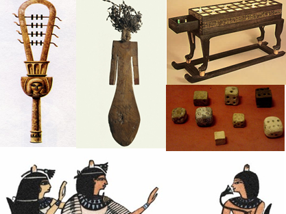 I know what the ancient Egyptians did for entertainment comprehension