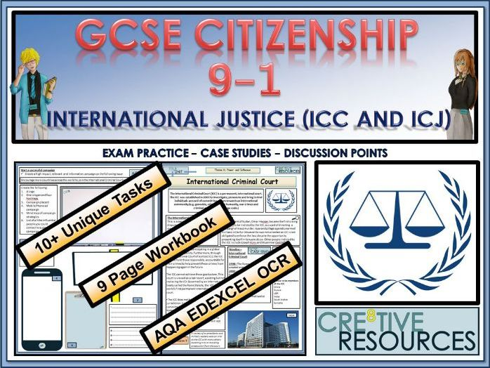 GCSE Citizenship (9-1)  - International Justice (ICC and ICJ)