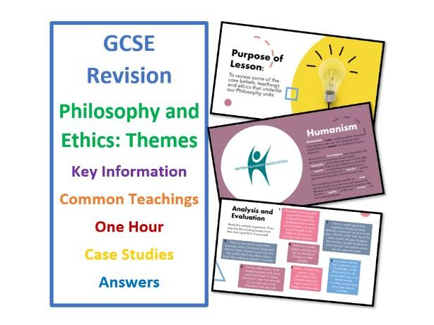 GCSE Themes - Philosophy and Ethics Revision Lesson  - Assessment Preparation