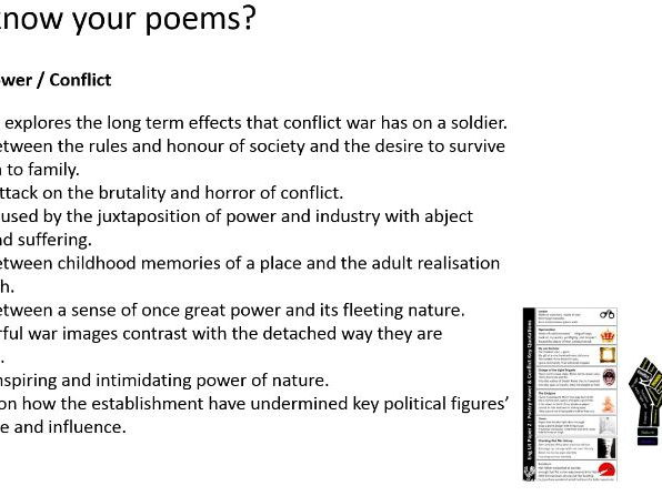 AQA English Literature 1-9 Animal Farm and Poetry ( 2 hour revision / intervention session)